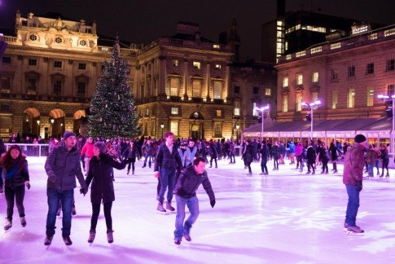 Somerset House Skate London