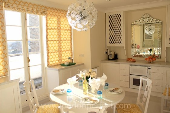 Sunny and Beautiful London Kitchen