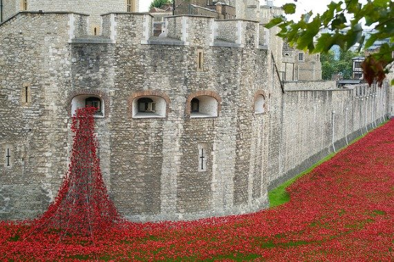 Tower of London Poppy Day