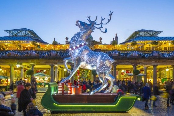 Christmas cheer and fun at Covent Garden for the holidays
