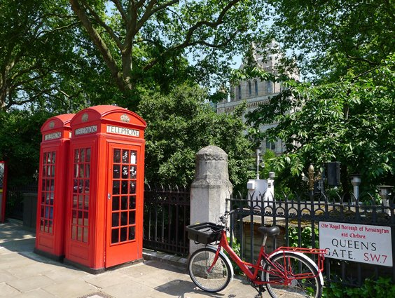 London charm in South Kensington