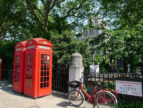 London charm in South Kensington