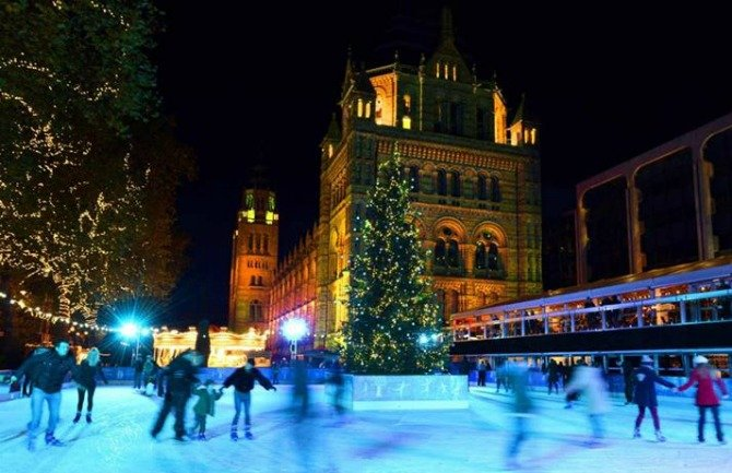 London's Most Charming Ice Skating Rink