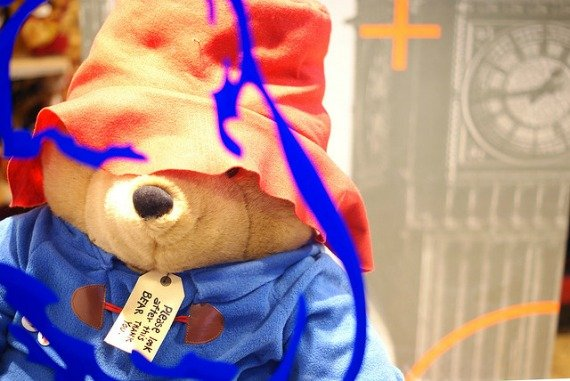 Paddington Bear comes to London
