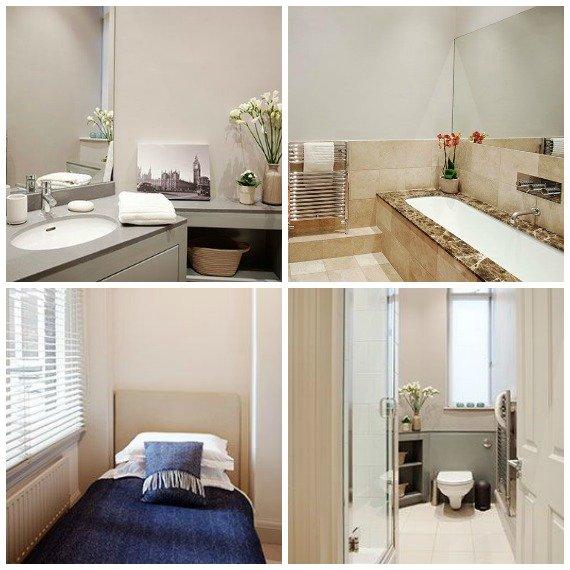 Primrose Bathrooms and Third Bedroom