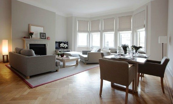 Primrose London Vacation Rental Living Room