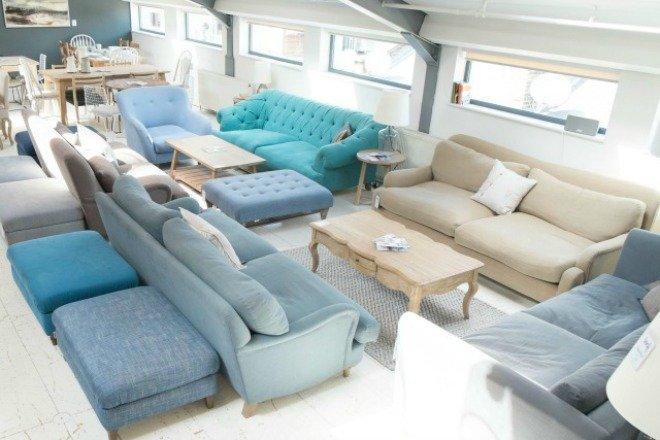 Loaf Luxury Furniture London sofa footstool bed