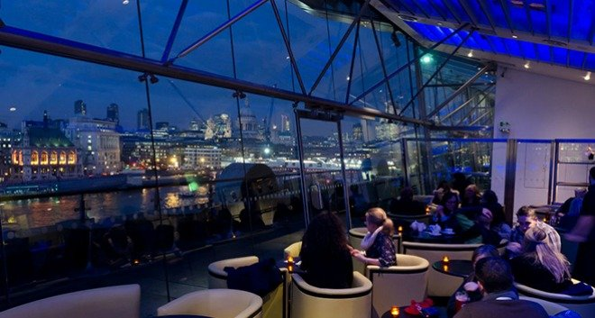 Dinner with a view London valentines day oxo