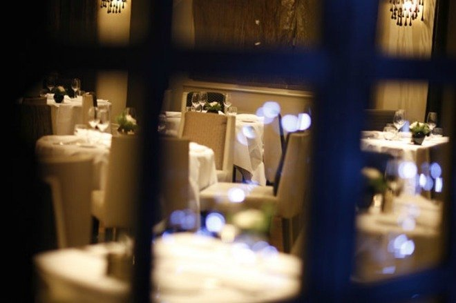 London Valentines day the Ledbury restaurant dinner romantic