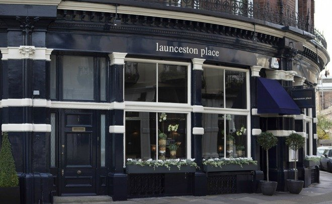 London Valentines day dinner The Launceston place Kensington