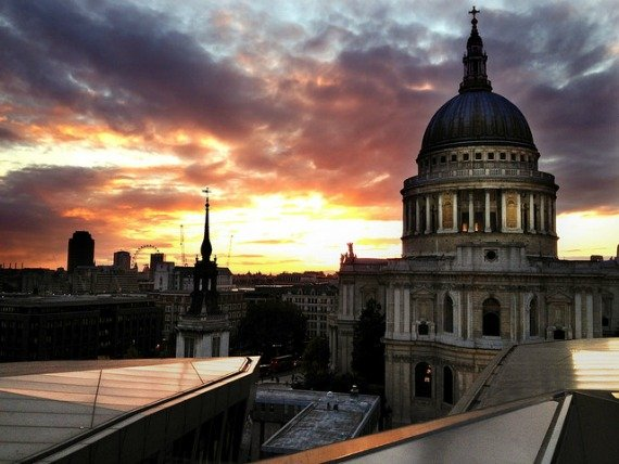 Stunning London view from One New Change