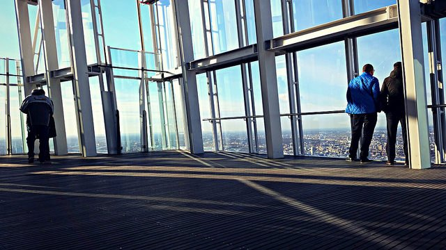 The Shard 72nd Floor panoramic views