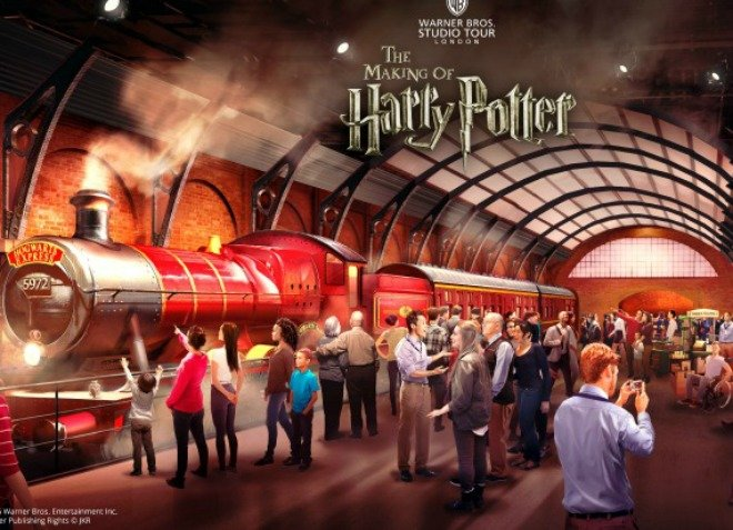 Attention Harry Potter Fans: Hop Aboard the Hogwarts Express!