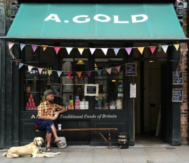 A. Golds Market Spitalfields Market London