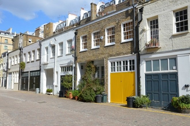 A Colourful South Kensington Mews