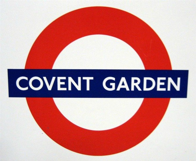 Covent Garden Tube
