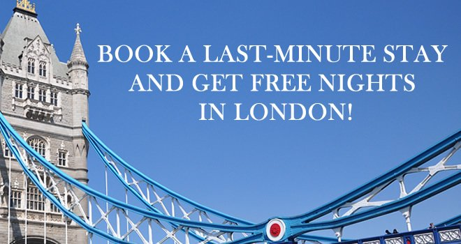 London Perfect Free Nights Last Minute Sale