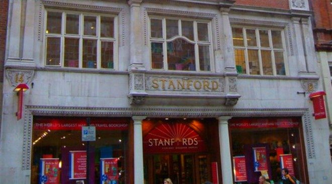 Stanfords on Long Acre, Covent Garden