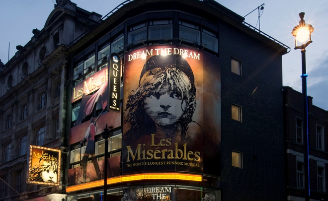 The Ultimate London Theatre Package Fat Tire Bike Tours - les mis