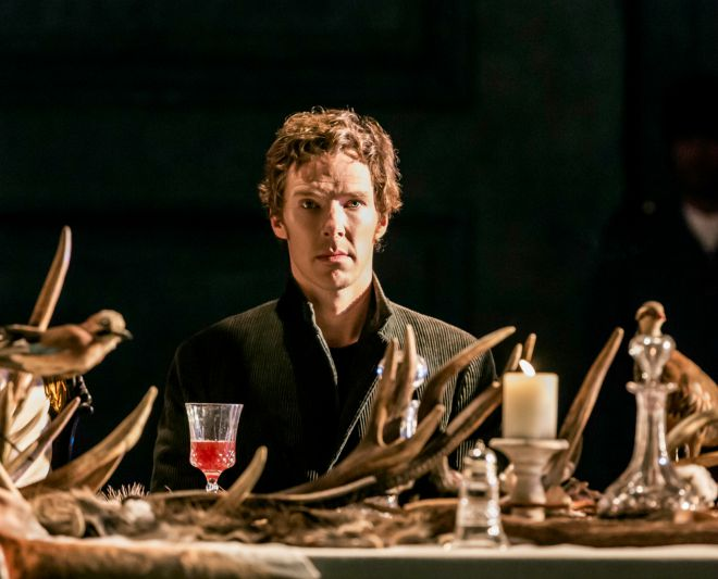 Catch Benedict Cumberbatch as Hamlet this autumn in London. (Photo by Johan Persson)