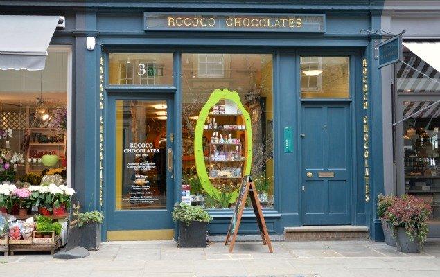 Rococo Chocolates Marylebone