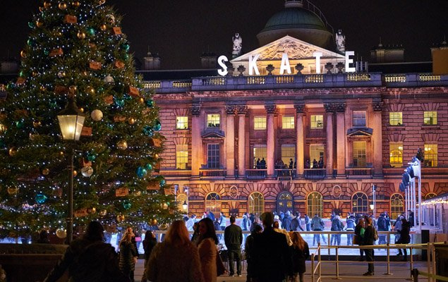 The Best Places to Ice Skate in London This Year