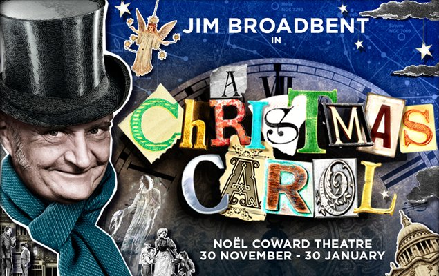 A Christmas Carol - Coming to the Noel Coward Theater from 30 Nov to 30 Jan.