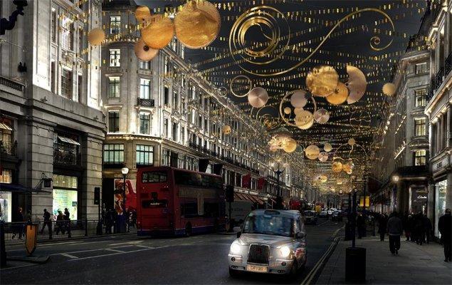 Regent Street's Christmas installation - Timeless Elegance