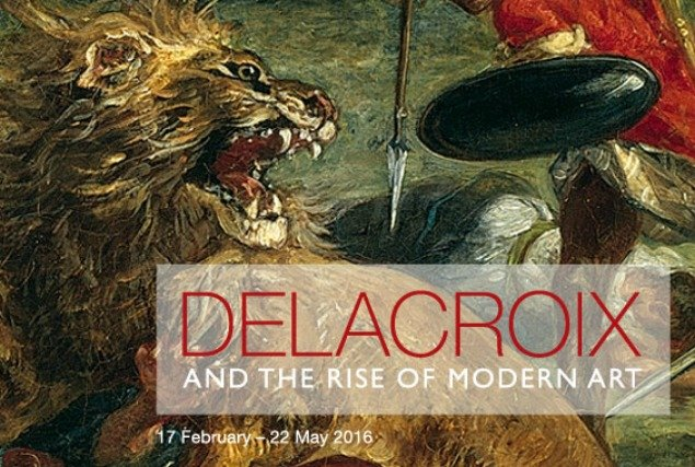 Delacroix and the Rise of Modern Art National Gallery