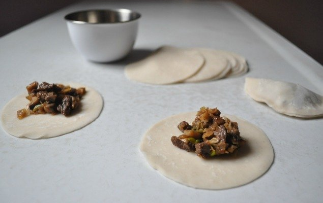 Potstickers Recipe Process