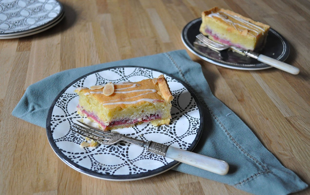 Recipe For Raspberry And Frangipane Bakewell Bars
