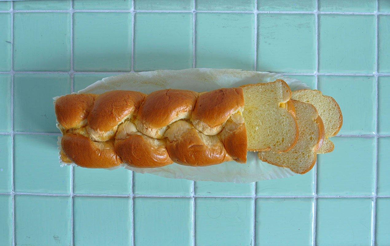 French toast brioche ingredient shot