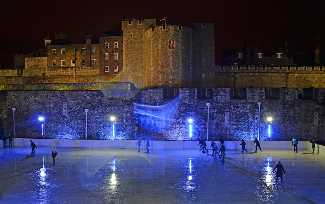The Best Ice Skating Rinks In London This Year!