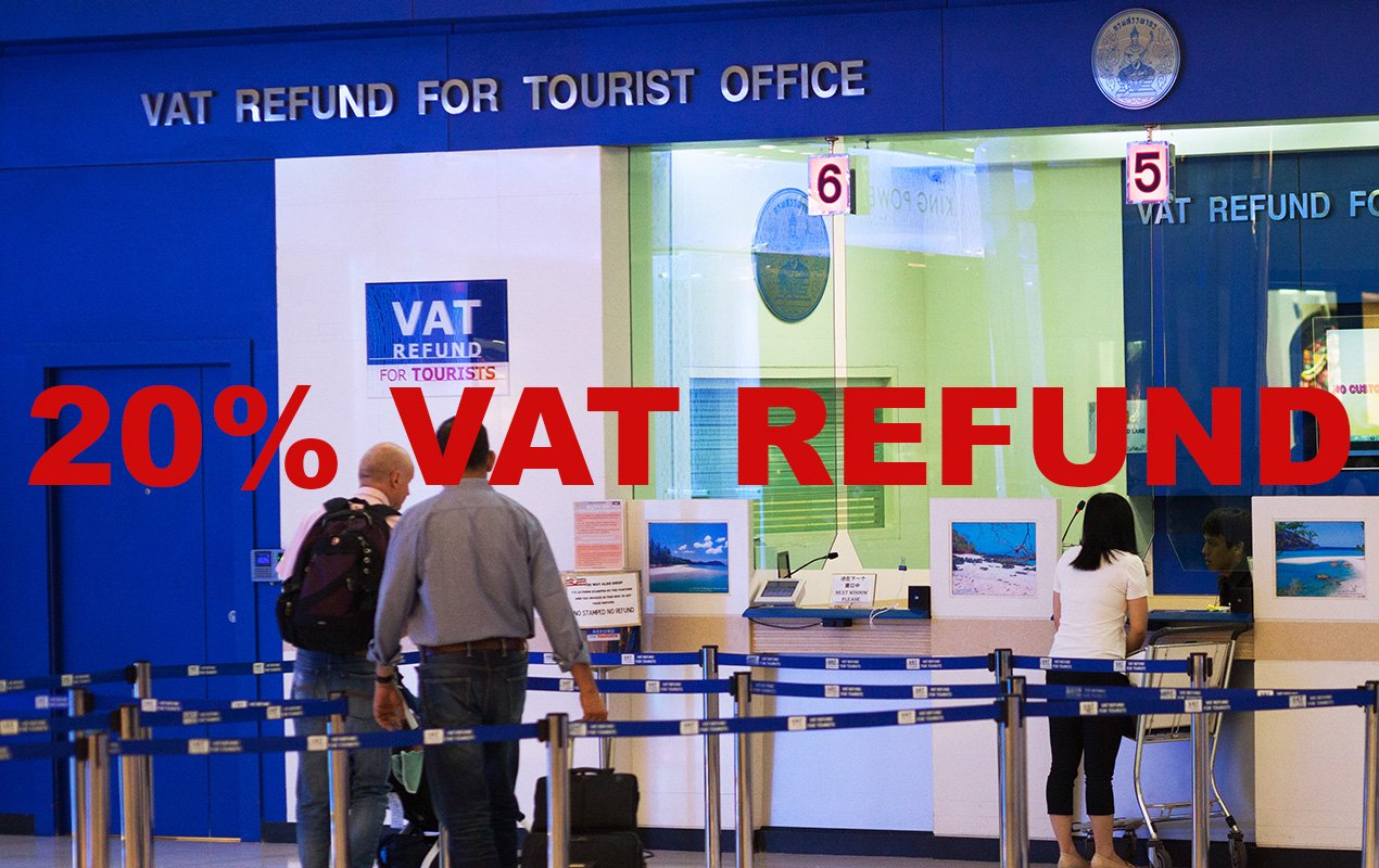 20% VAT Tax refund