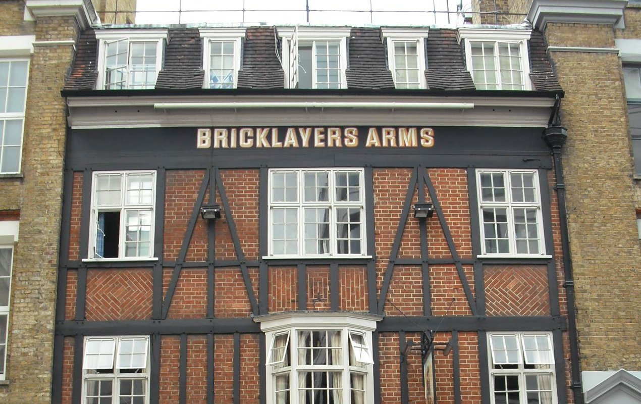Bricklayers-pub