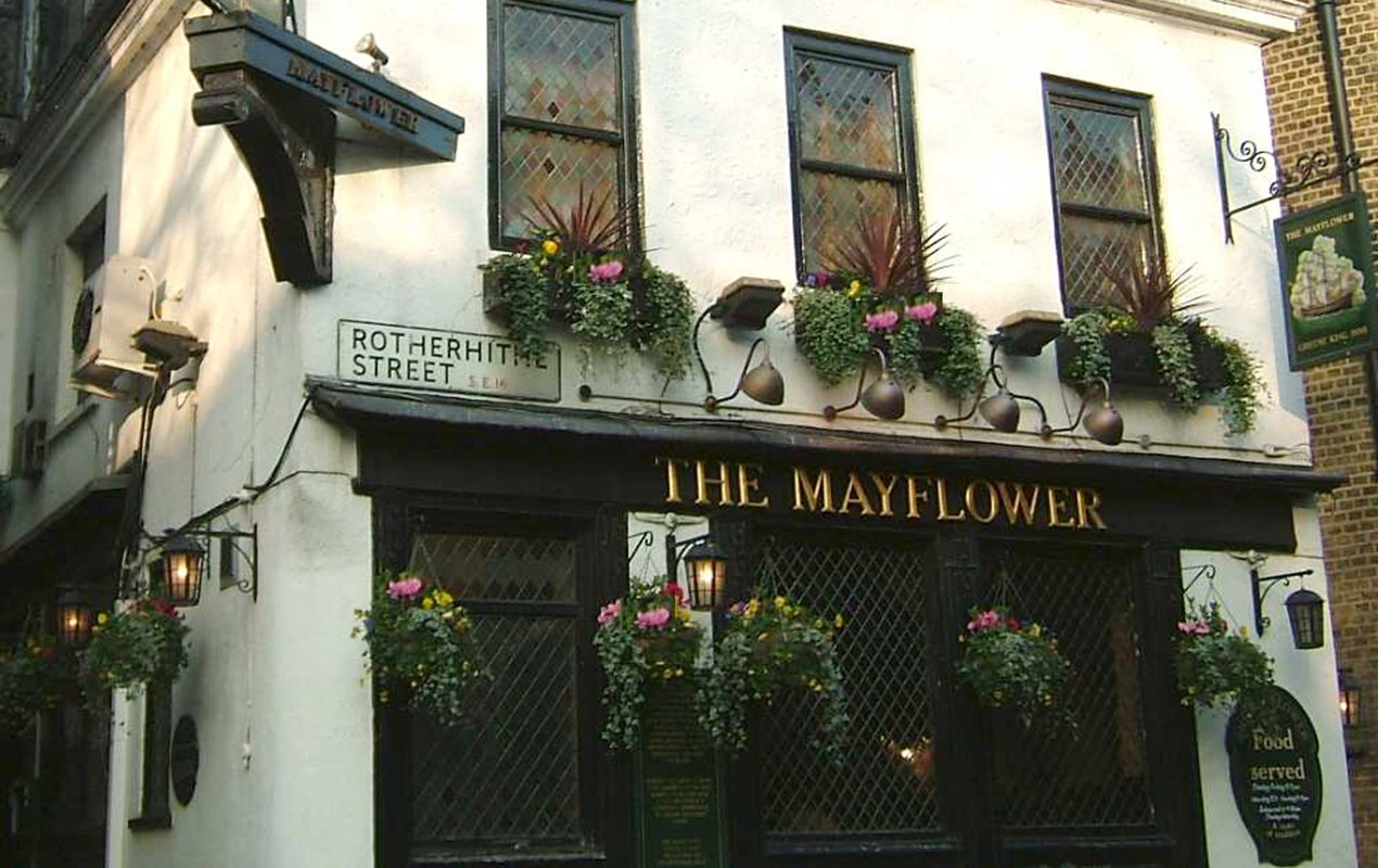 Mayflower-pub