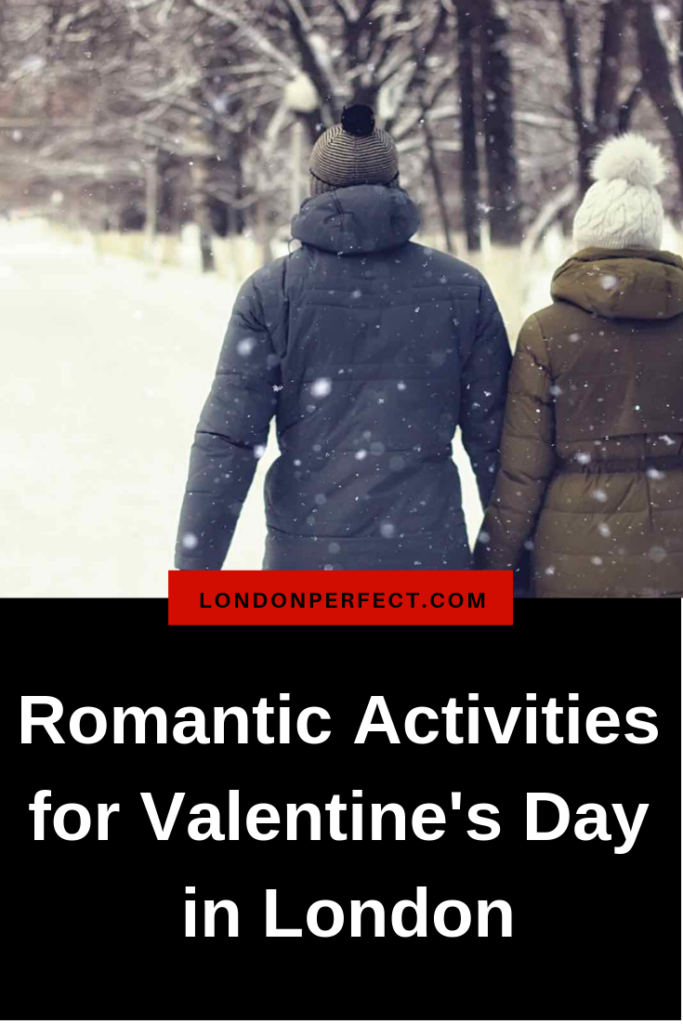 Top Romantic Activities for Valentine's Day in London