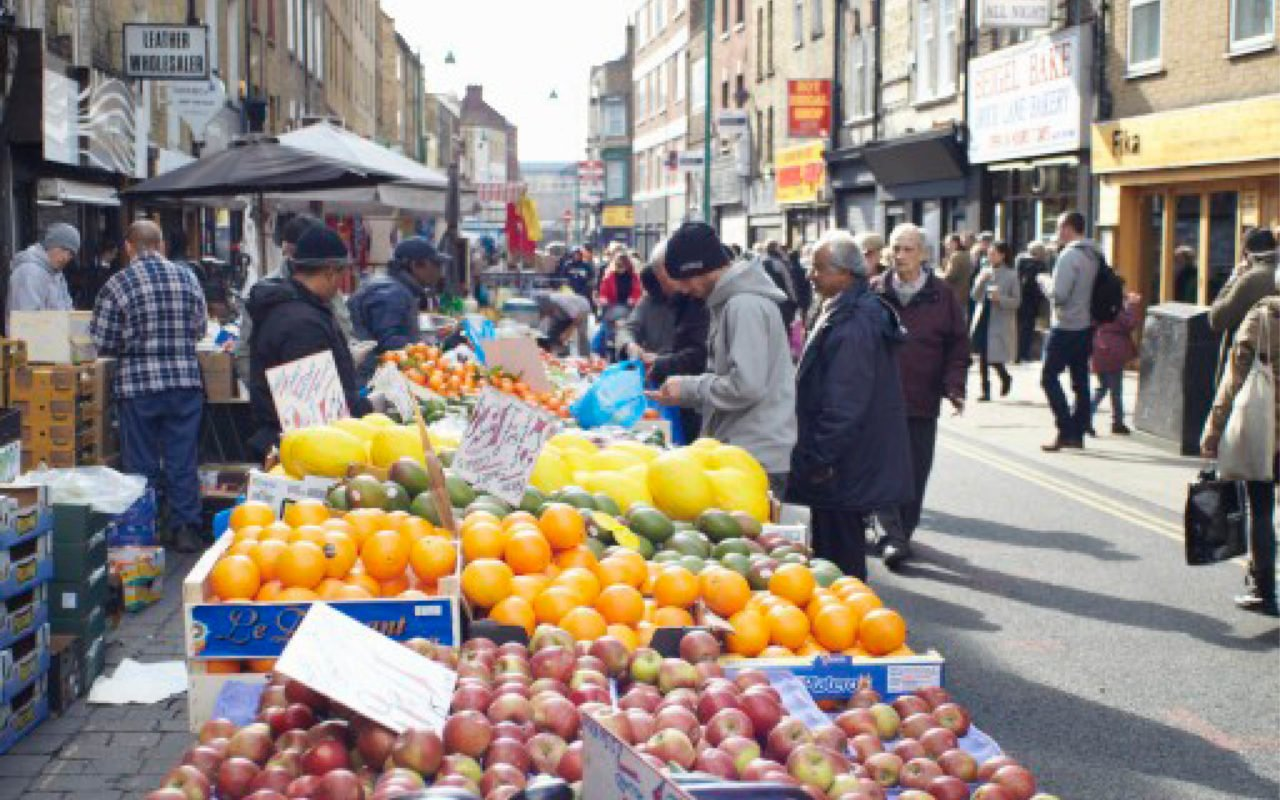 3 of London's Best Street Markets