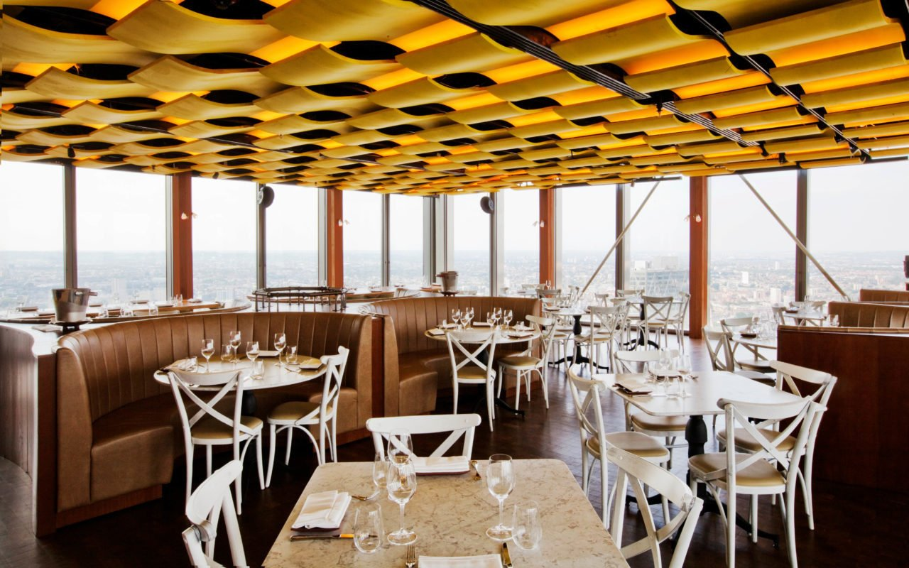 Duck and Waffle Brunch Dining Room