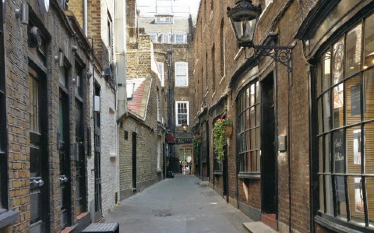 Goodwin Court Knockturn Alley Harry Potter