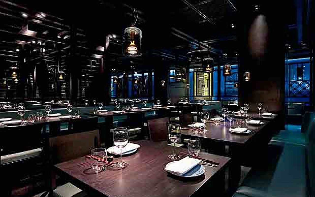 Hakkasan Brunch Dining Room
