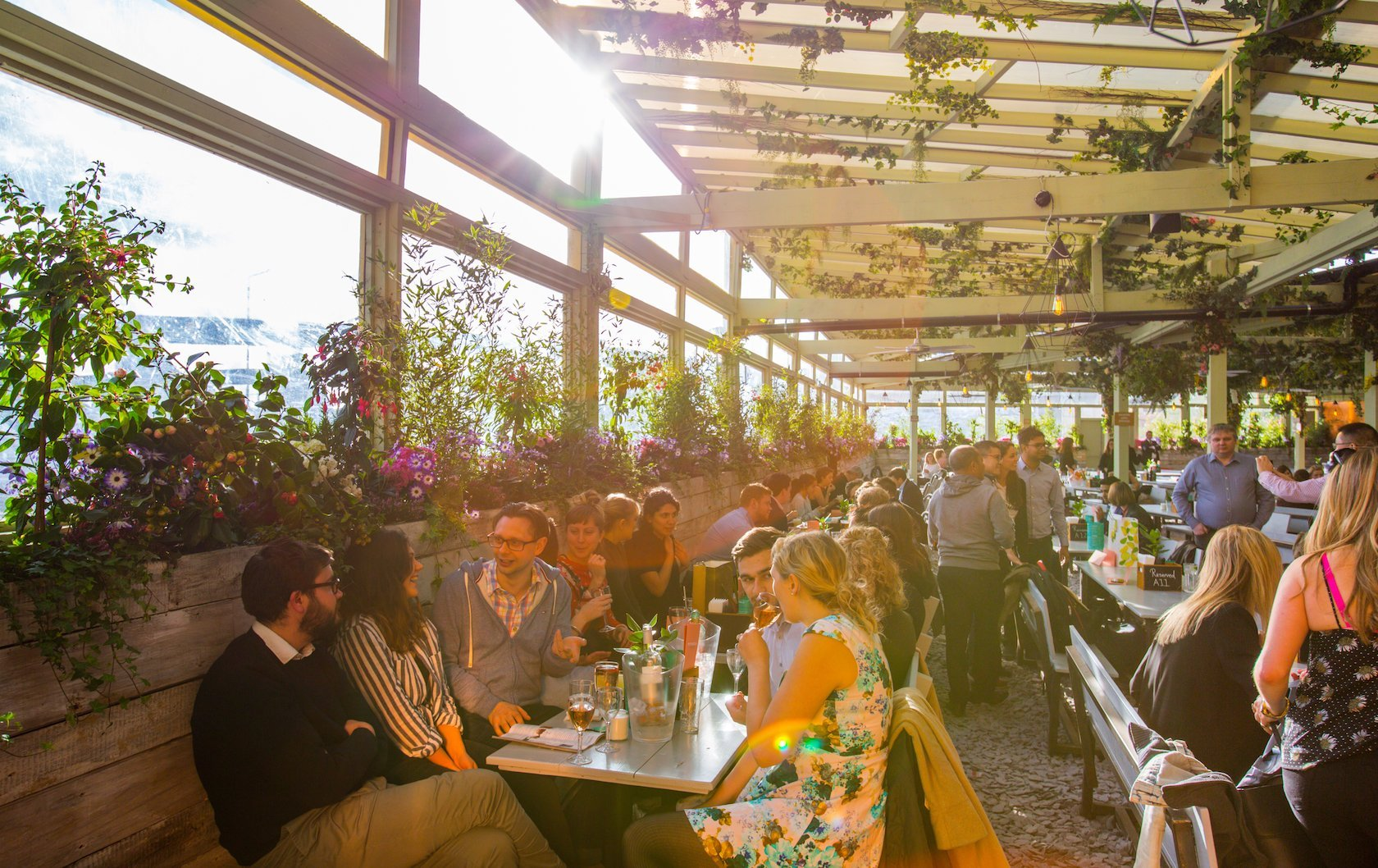 best rooftop bars in London by London Perfect