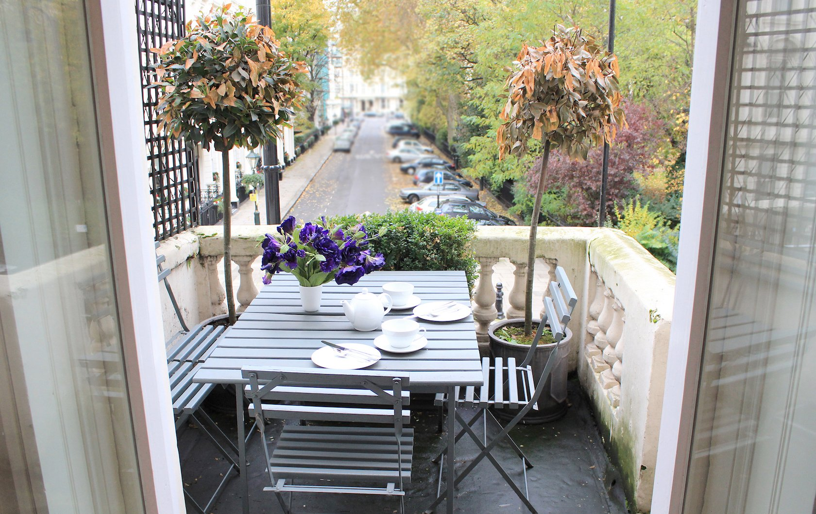 London apartments with outdoor spaces by London Perfect