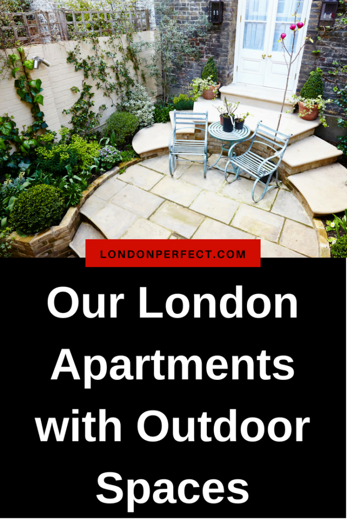 Terraces, Balconies and Backyards: Our London Apartments with Outdoor Spaces by London Perfect