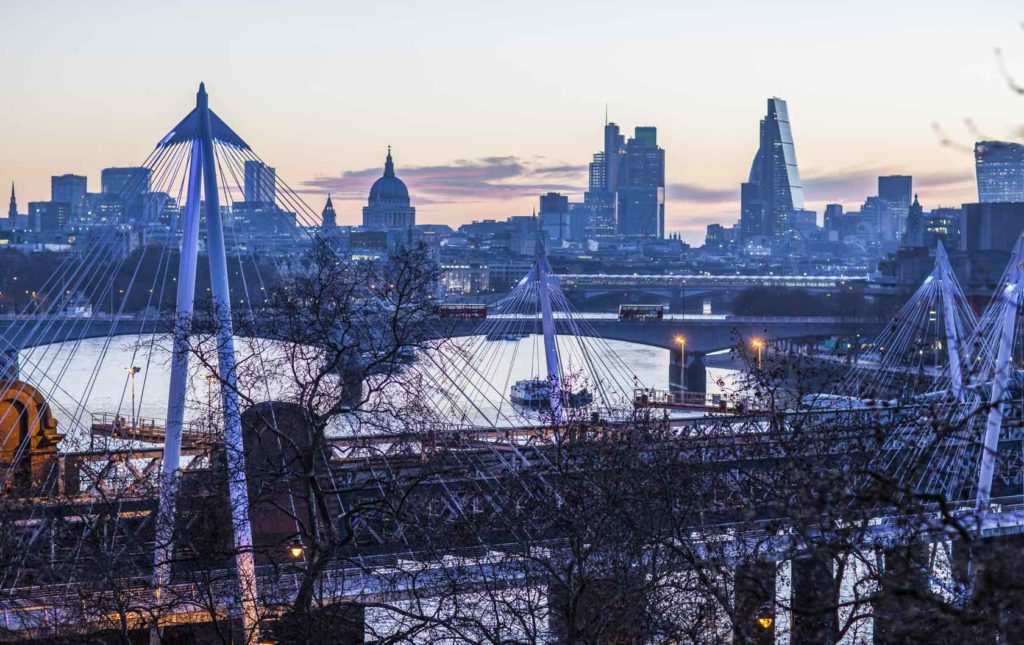 5 Reasons To Plan A Winter Trip To London by London Perfect Winter London skyline