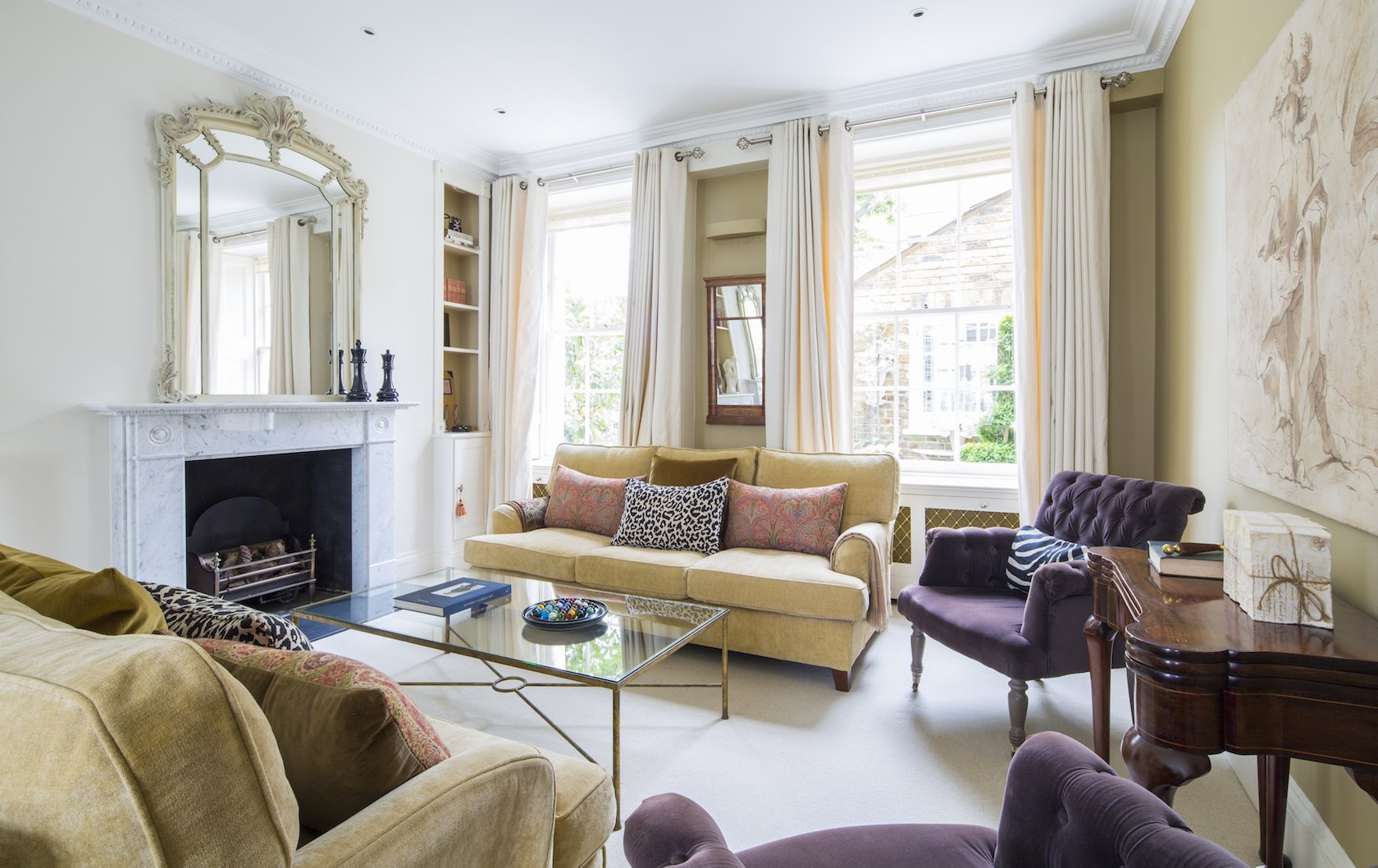 London apartments with fireplaces by London Perfect