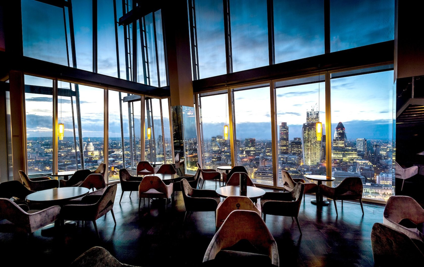 romantic restaurants in London by London Perfect