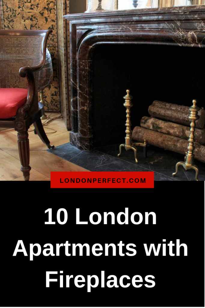 10 London Apartments with Fireplaces by London Perfect