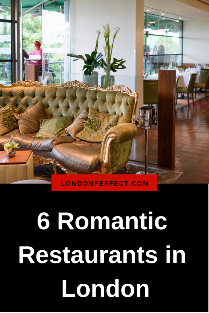 6 Romantic Restaurants in London by London Perfect