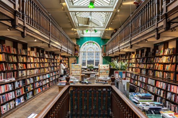 London bookshops by London Perfect